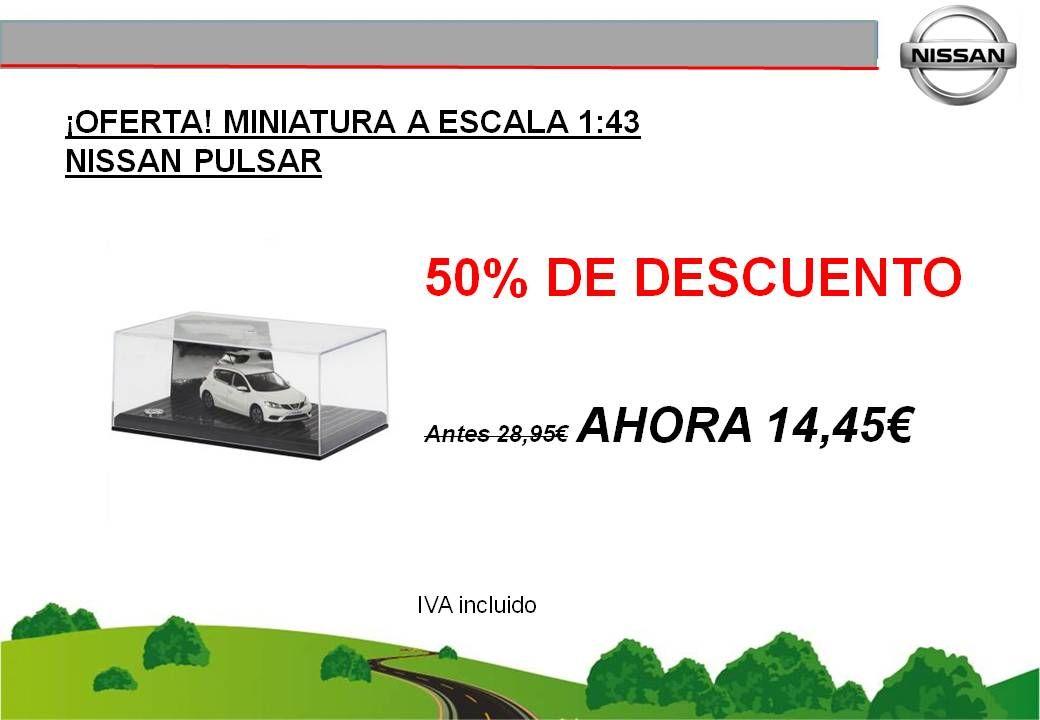 ¡OFERTA! MINIATURA A ESCALA 1:43 NISSAN PULSAR - 14,45€