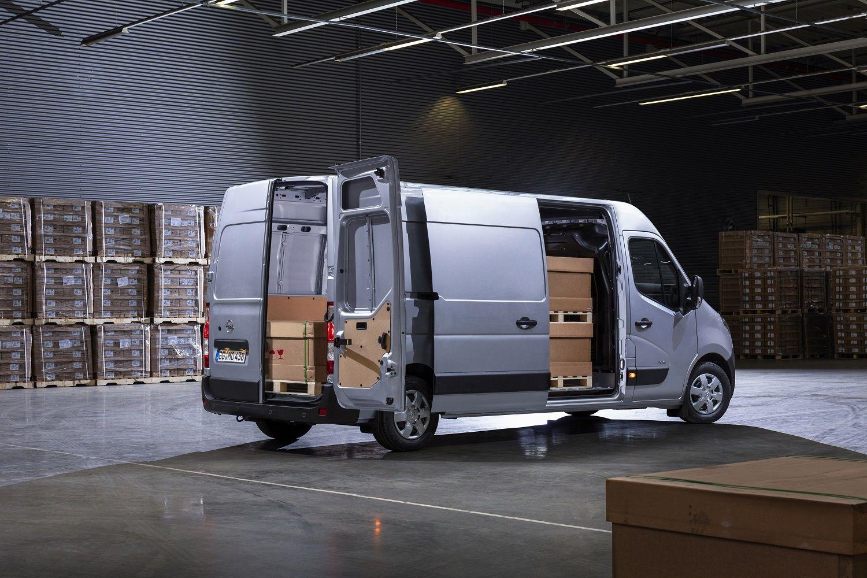 Nuevo Opel Movano: seguridad y versatilidad