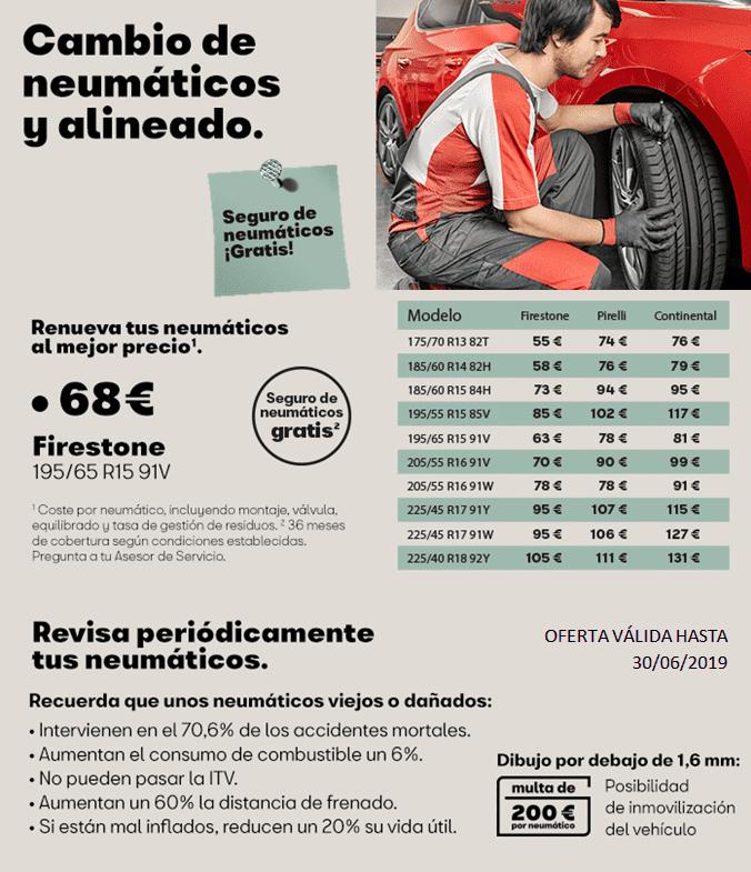 Renueva tus neumáticos ¡al mejor precio!