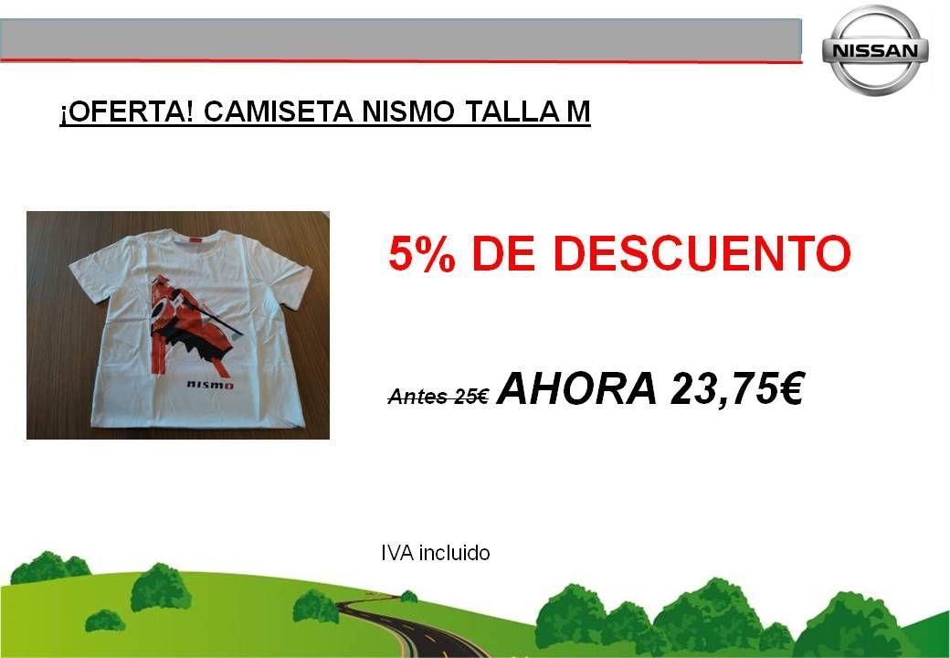 ¡OFERTA! CAMISETA NISSAN NISMO TALLA M - 23,75€