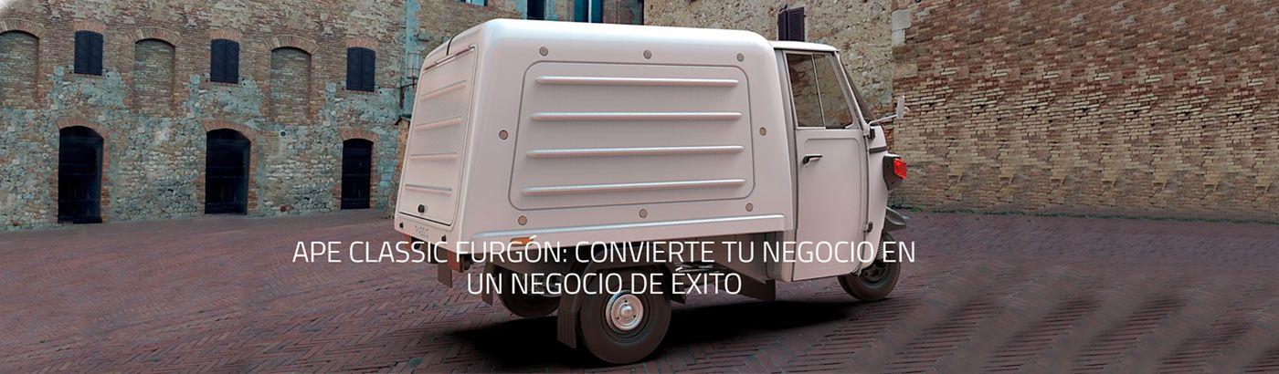 Piaggio Commercial Leon.