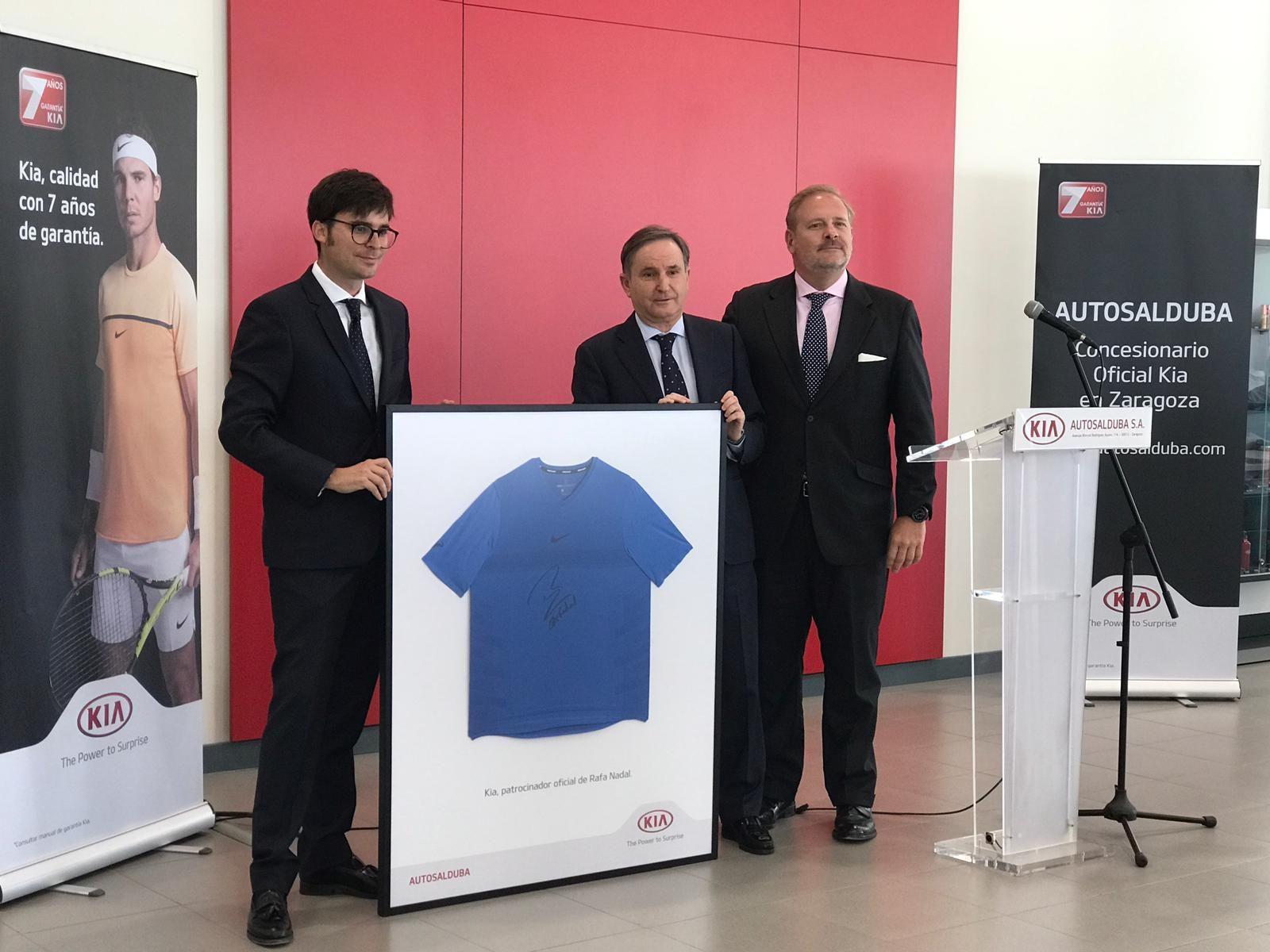Kia Motors Iberia y Autosalduba inauguran sus nuevas instalaciones en Av. Rodríguez Ayuso