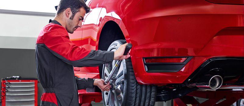 Cambio de neumáticos y seguro incluido.