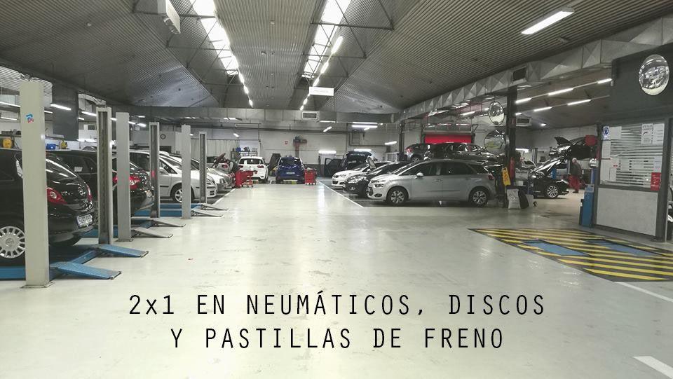 2X1 EN NEUMÁTICOS, DISCOS Y PASTILLAS DE FRENO