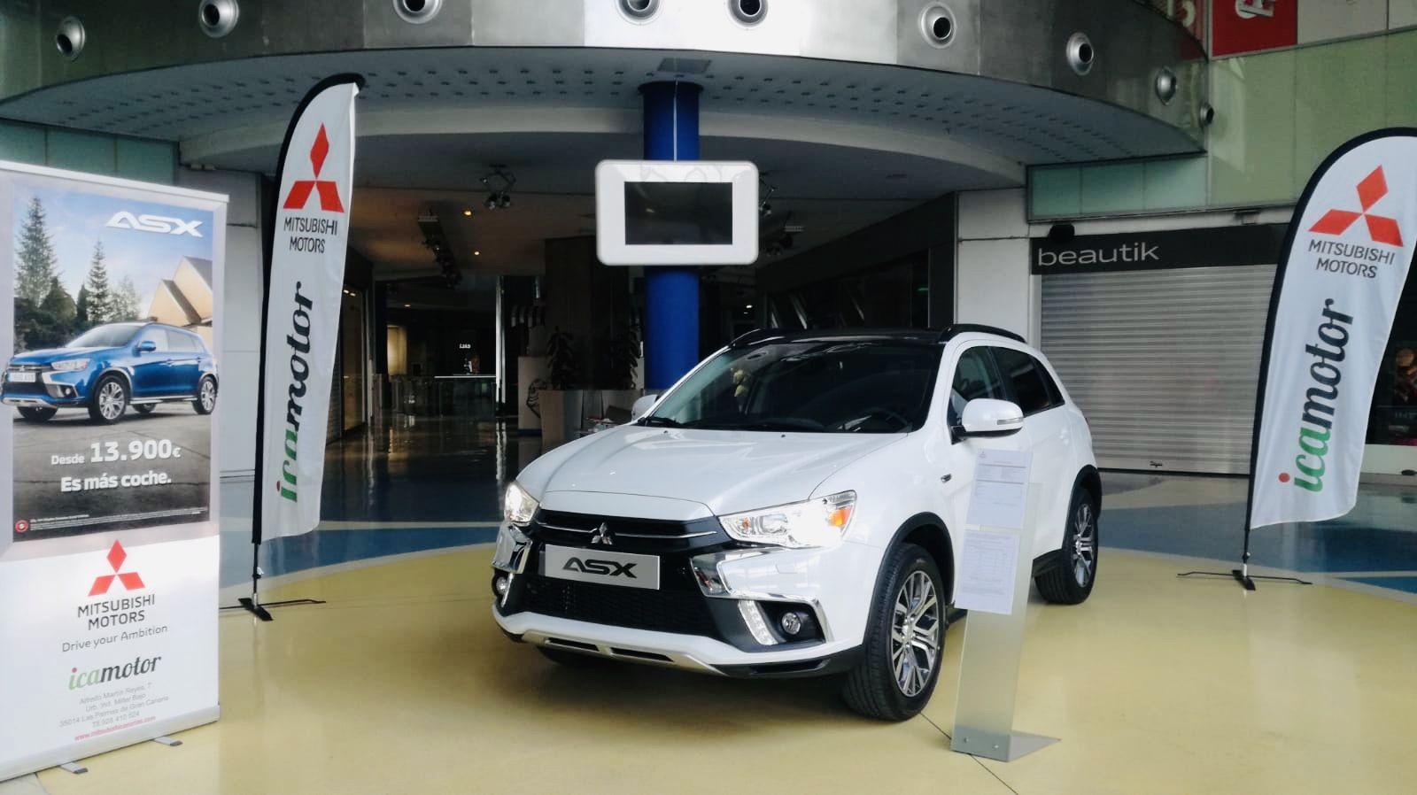 Mitsubishi ASX en el Centro Comercial y de Ocio 7 Palmas.