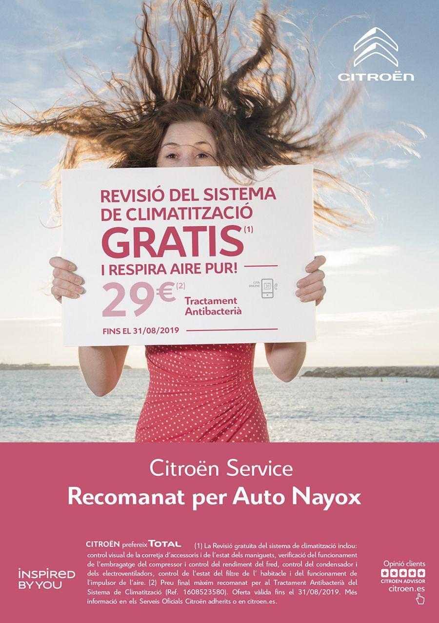 Revisió del sistema de climatització gratis