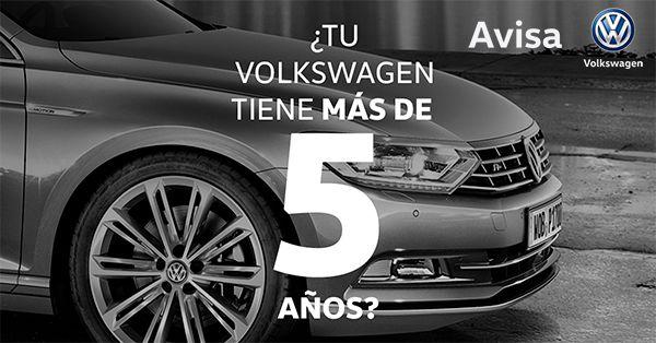 ¿Tienes un Volkswagen con más de 5 años?