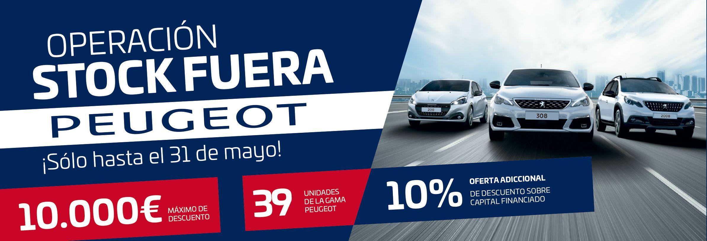 Operacion Stock Fuera en Peugeot Tumosa