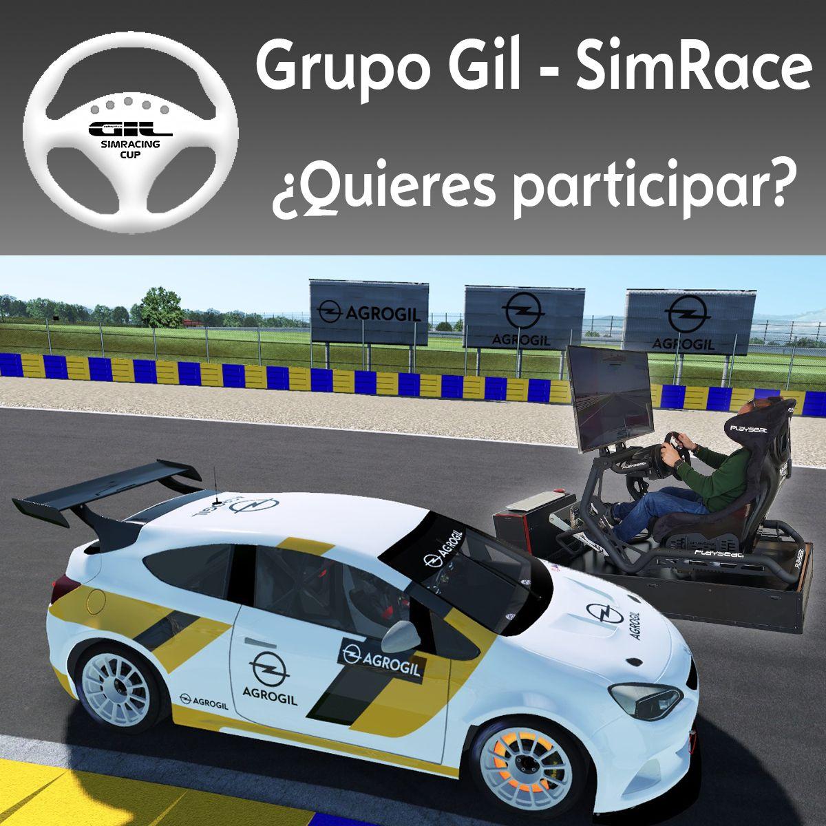 2º RONDA DEL CAMPEONATO GRUPO GIL - SIMRACING CUP