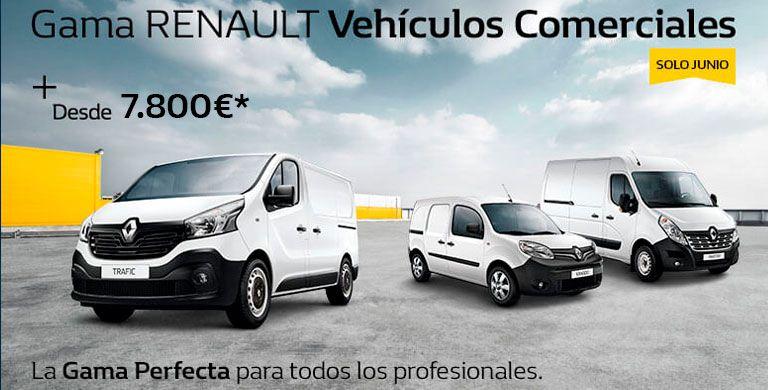 Gama Renault Vehículos Comerciales hasta 30 de junio 2019