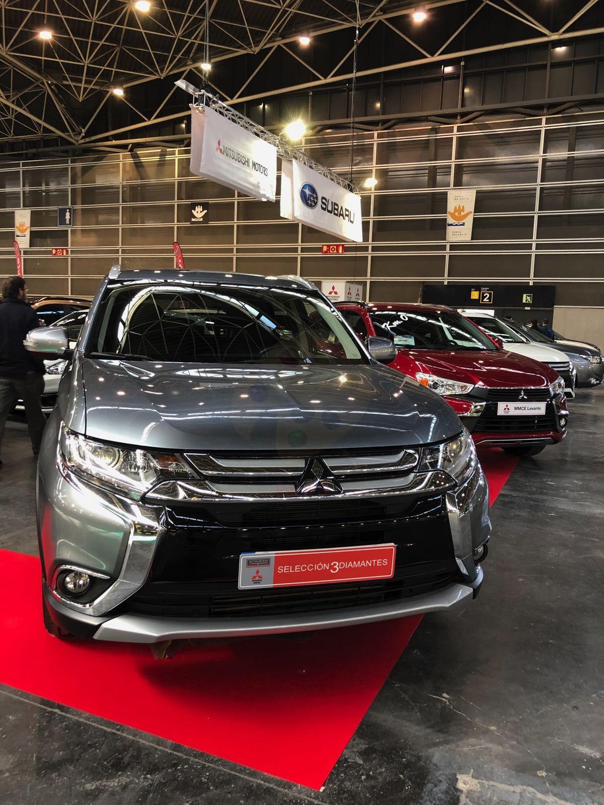 Mitsubishi Levante presente en la Feria Selección Ocasión 2018