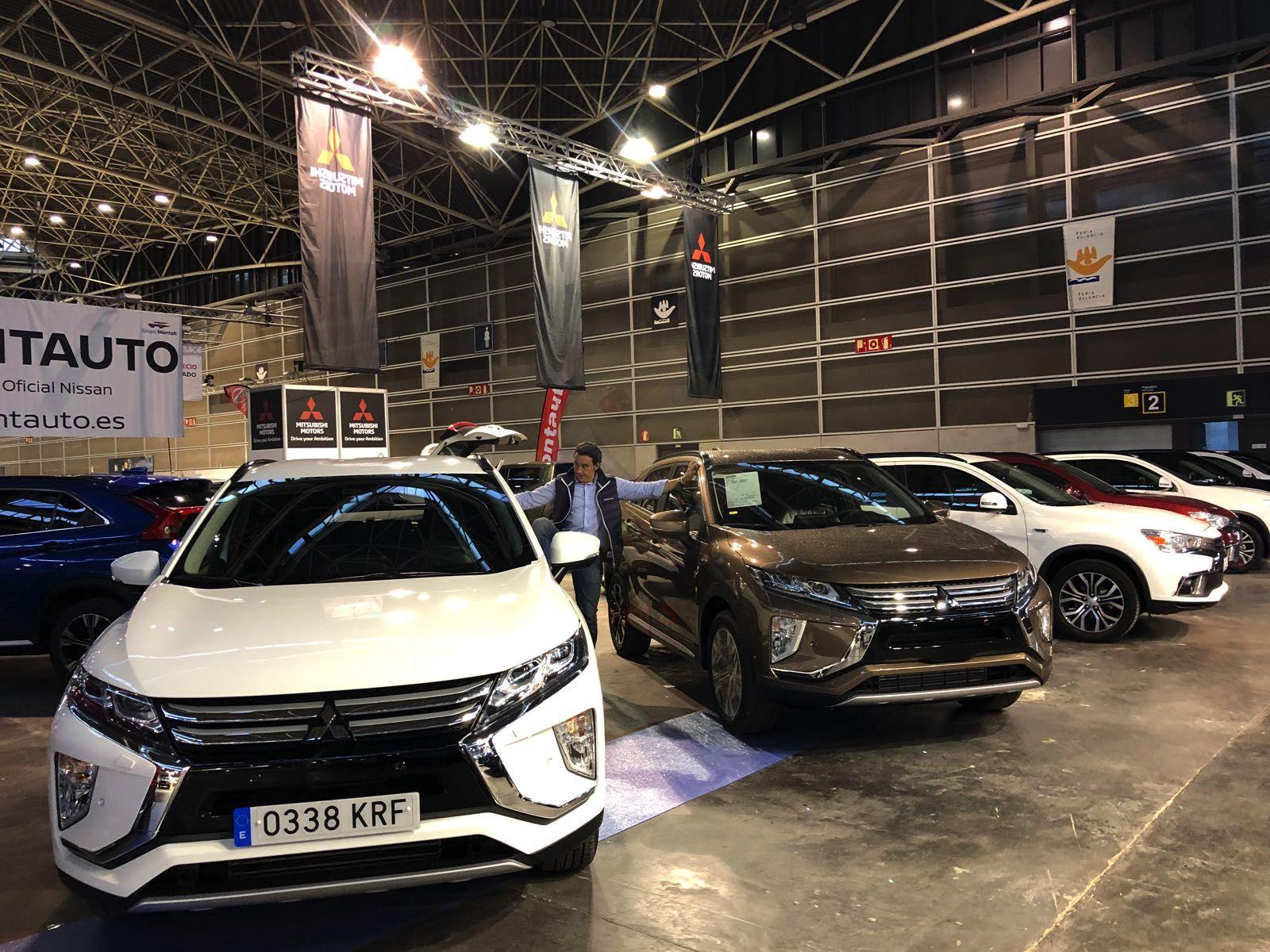 Todo preparado para  una nueva participación de Mitsubishi en la Feria Selección Ocasión de Feria de Valencia