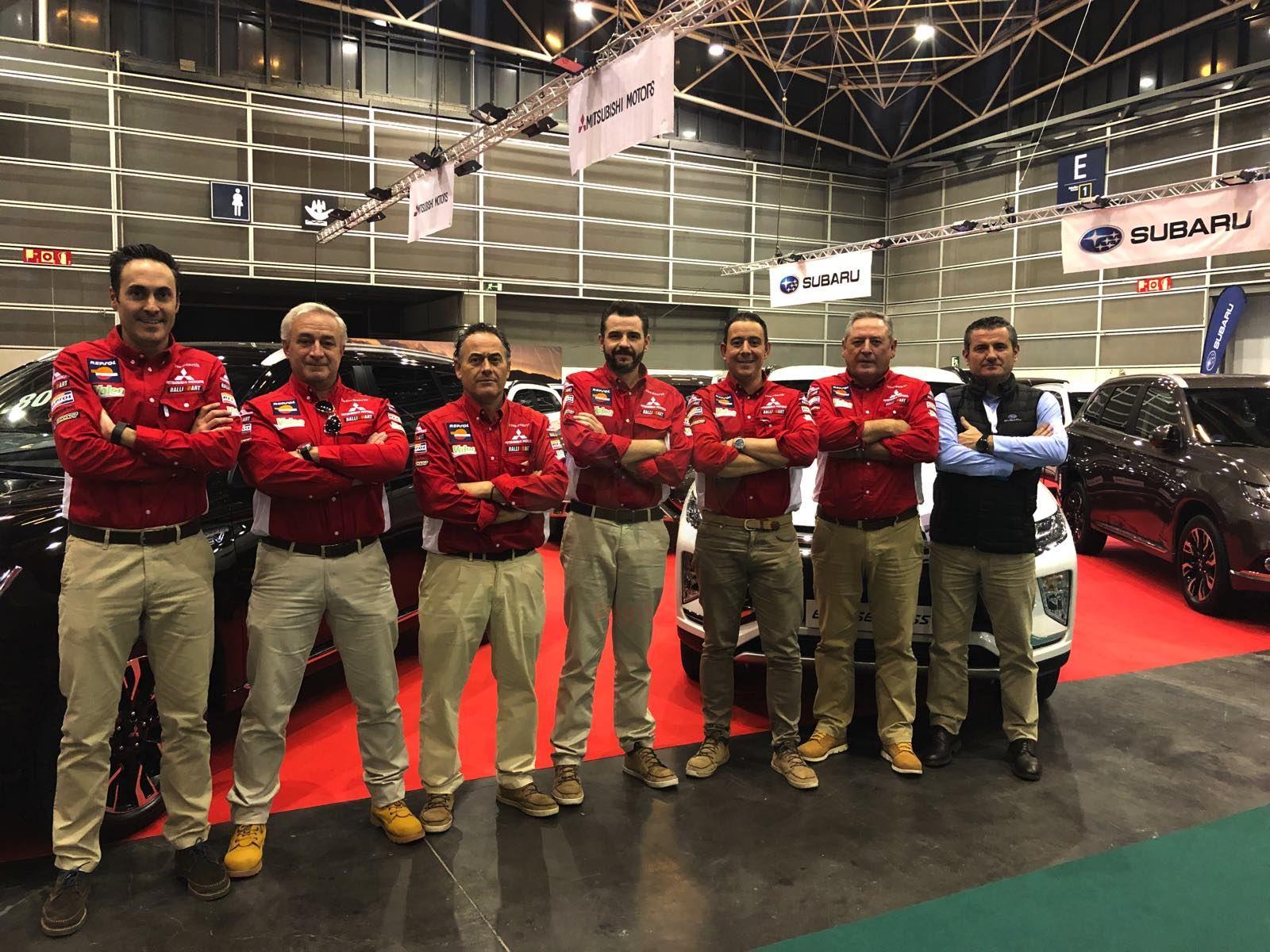 Mitsubishi Levante preparado para su participación en la Feria del Automóvil y Vehículo de Ocasión de Valencia
