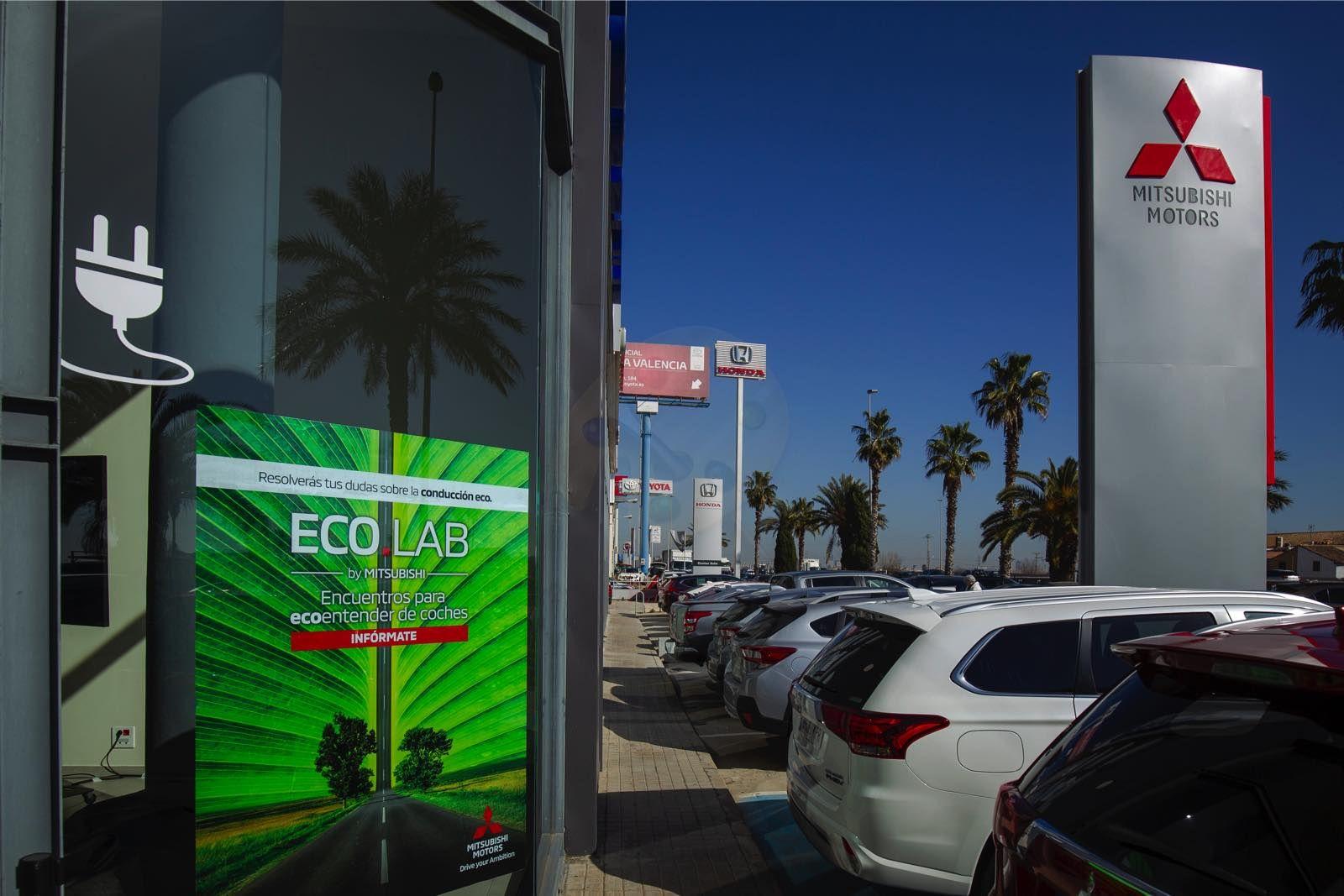 Mitsubishi Levante acoge EcoLab, un espacio de Mitsubishi Motors para ecoentender