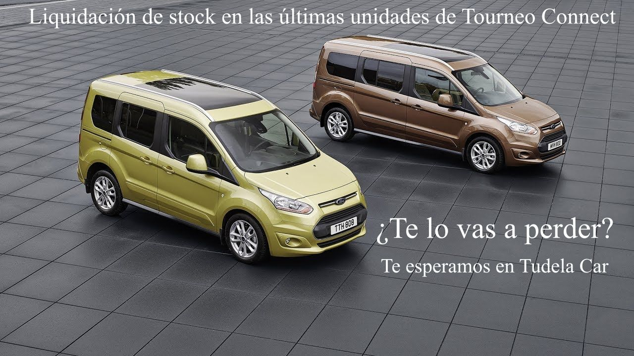 Liquidación de stock en Tourneo Connect