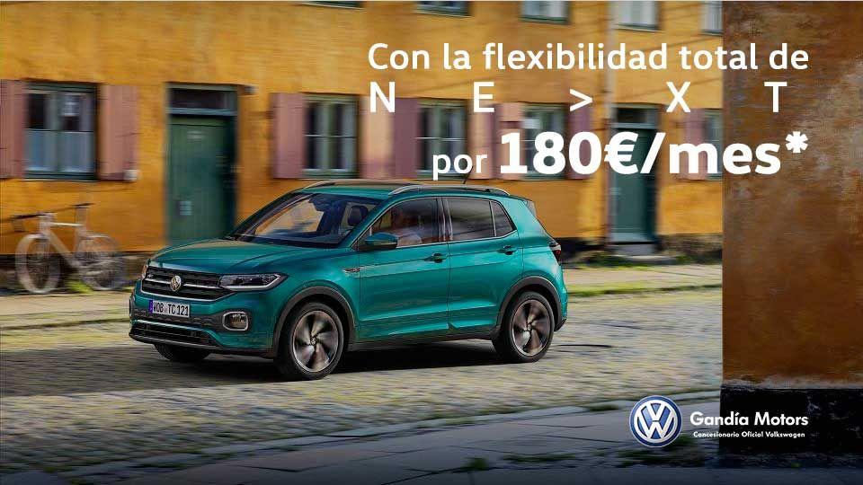 Nuevo T-Cross, tu SUV urbano por 180€/mes