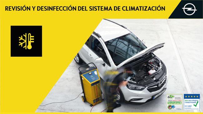 REVISIÓN Y DESINFECCIÓN DEL SISTEMA DE CLIMATIZACIÓN 29 €  IVA incluido Del 4 de junio al 31 de julio de 2019