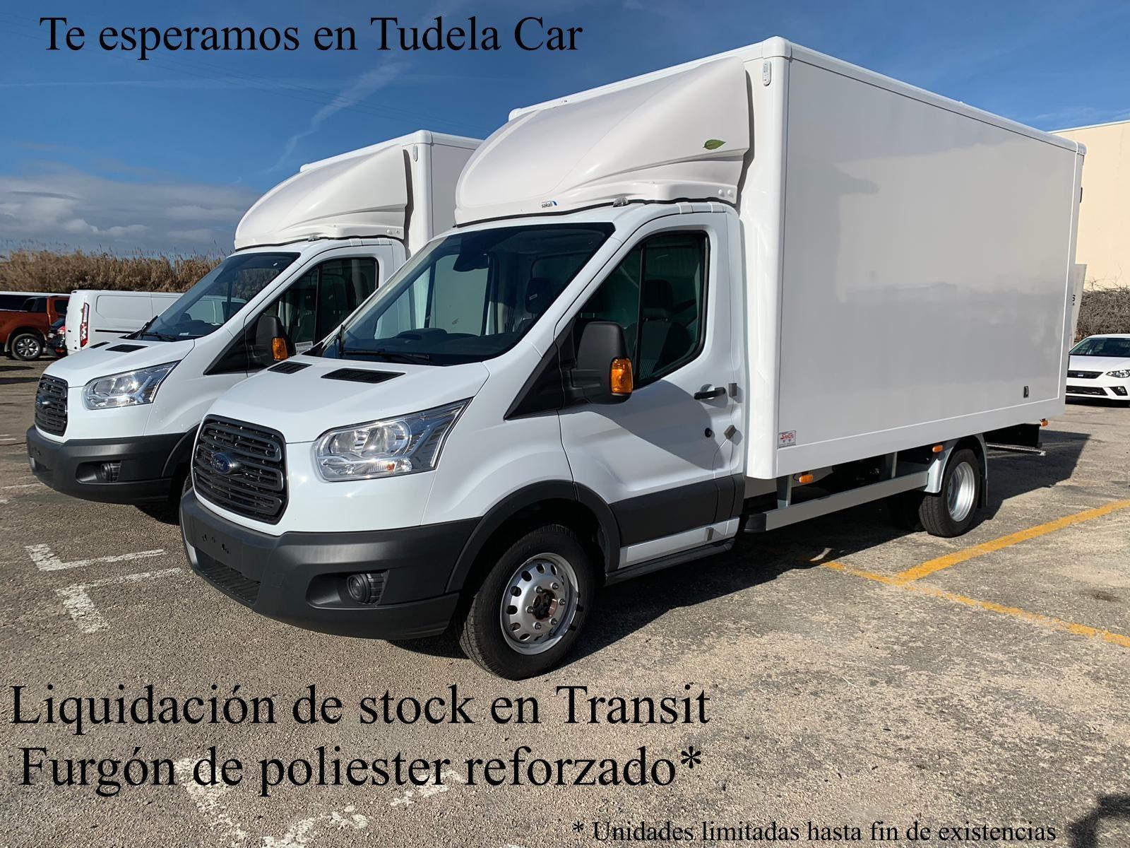 Oferta de liquidación en Ford Transit de poliéster reforzado