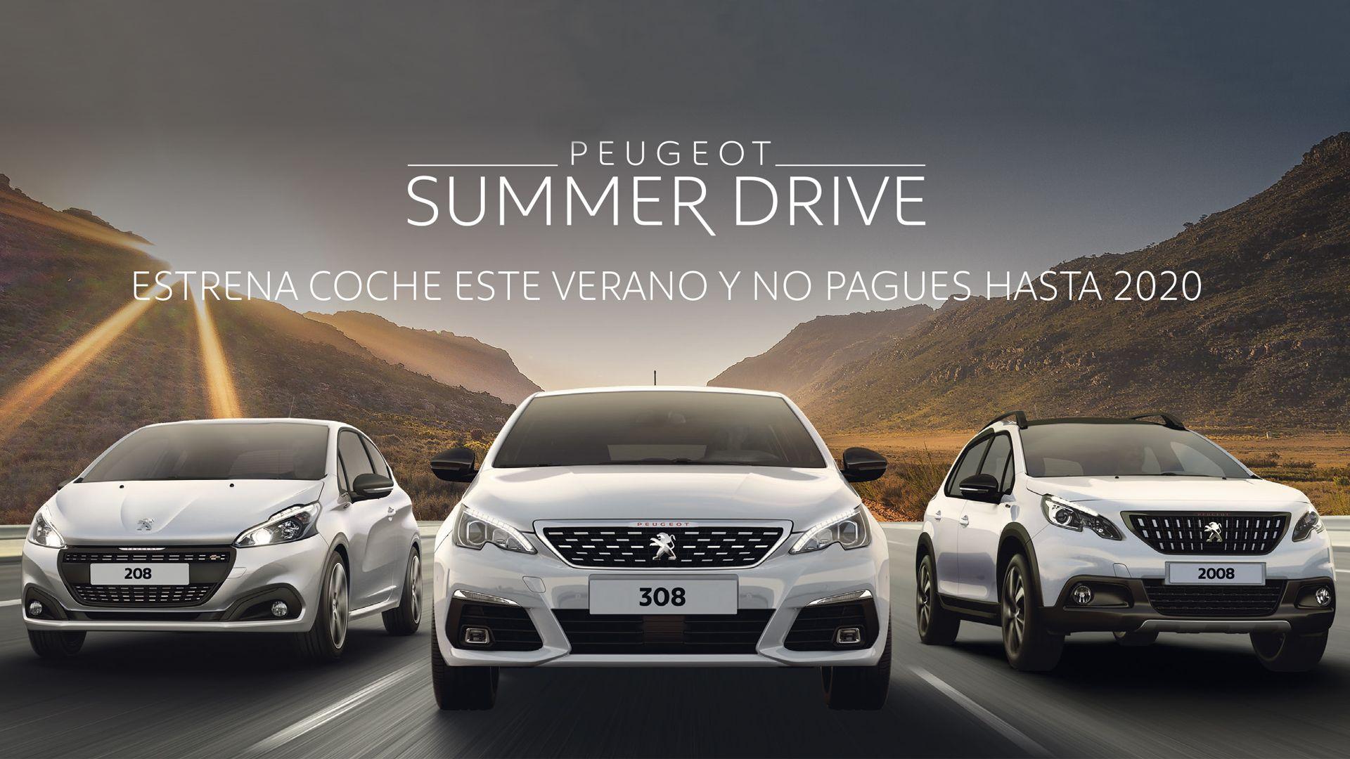 Estrena coche este verano y no pagues hasta 2020