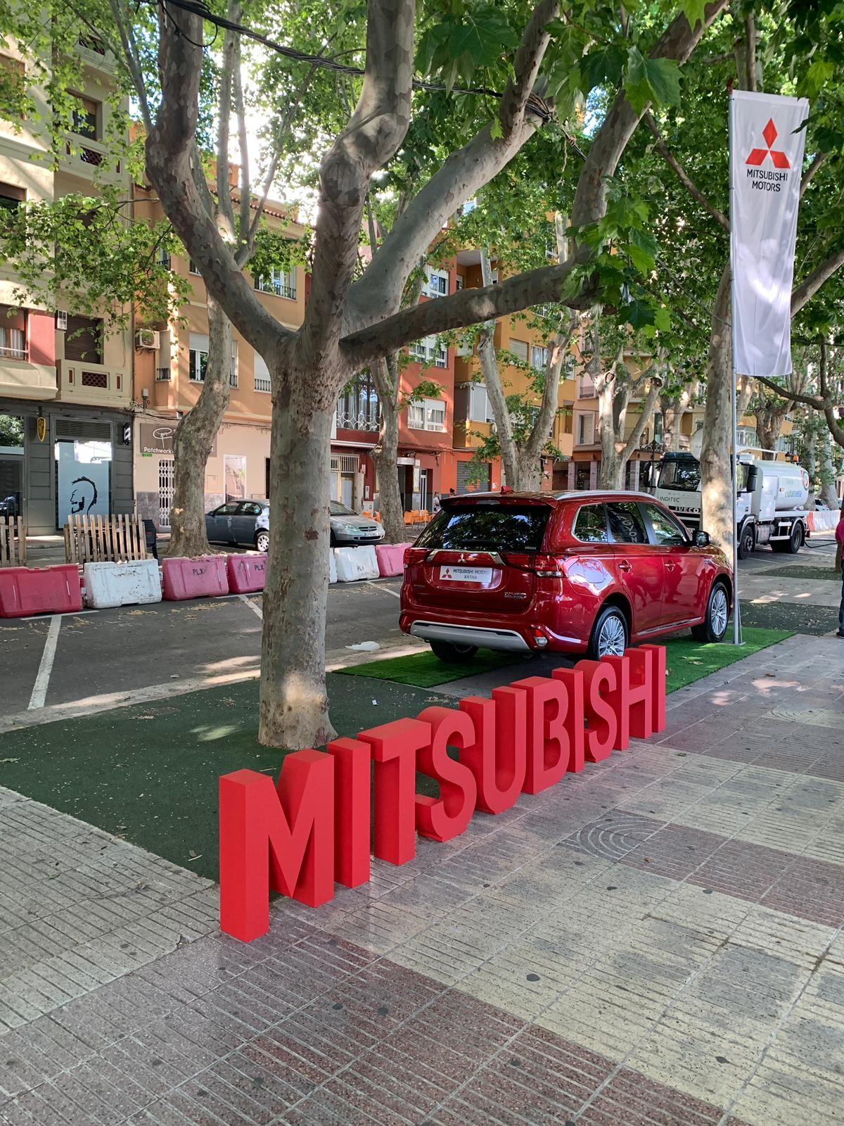 Mitsubishi presente un año más en la Feria de Xátiva