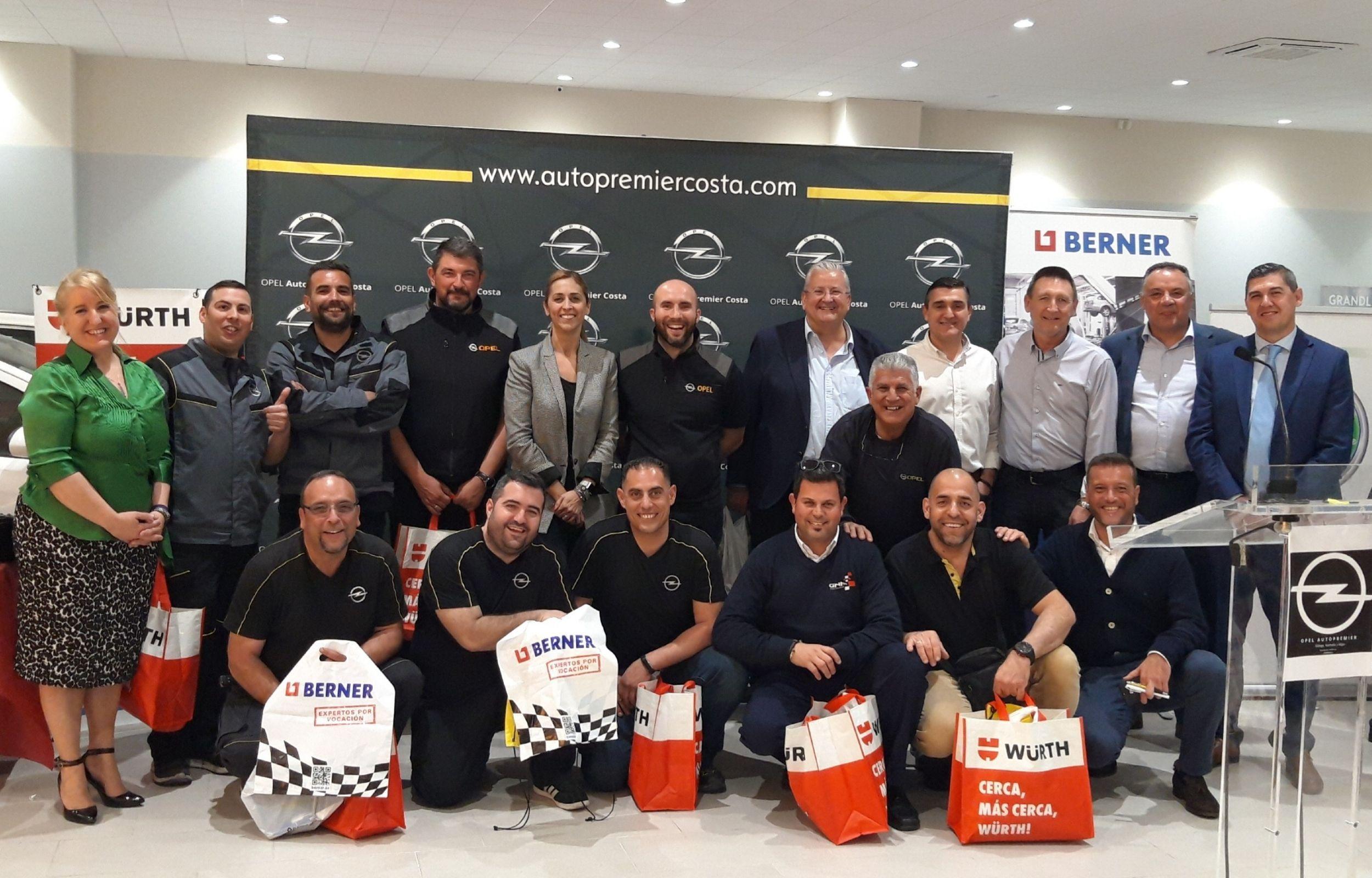 Evento para profesionales, Autopremier Málaga