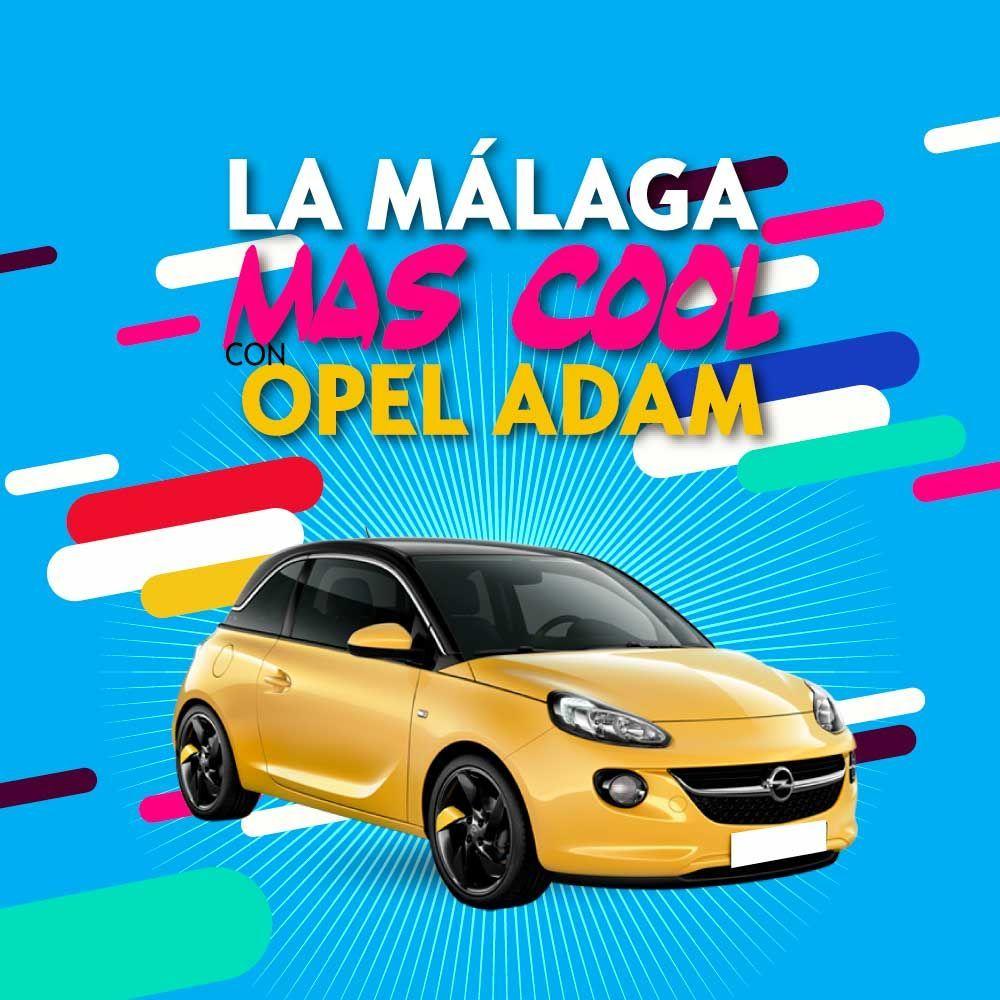 Opel Adam y la Málaga más cool