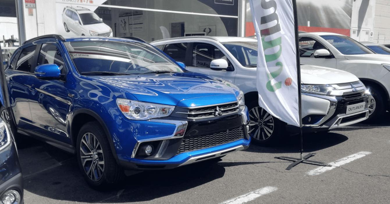 Mitsubishi ASX y Outlander en la III Feria del Motor de El Sebadal.