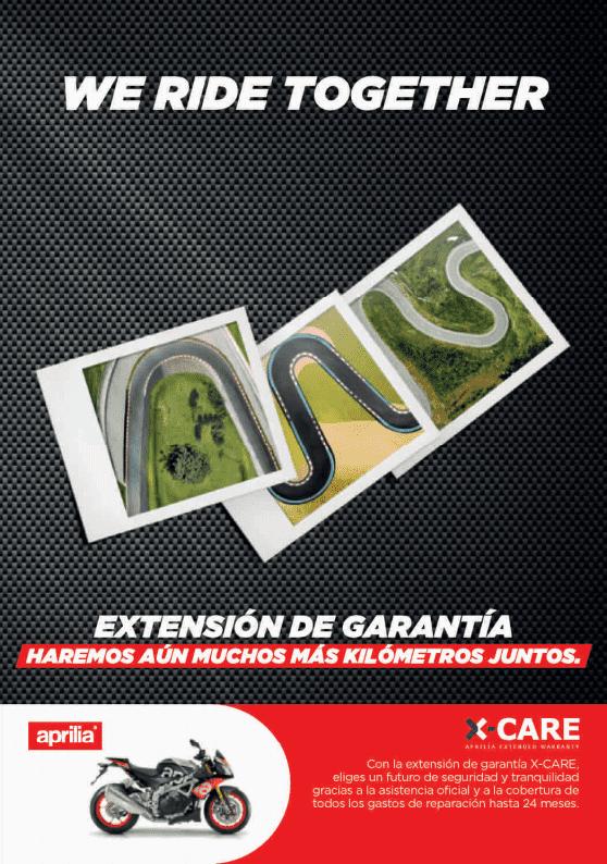 Extensión de Garantía Aprilia