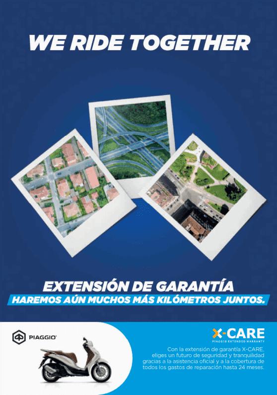 Extensión de Garantía Piaggio