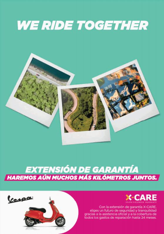 Extensión de Garantía Vespa