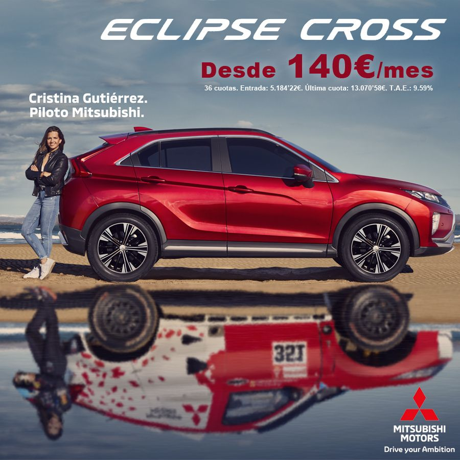 Mitsubishi Eclipse Cross desde 140€/mes*