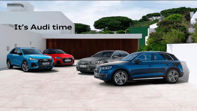 It's Audi Time. Es el momento de conseguir un renting Audi