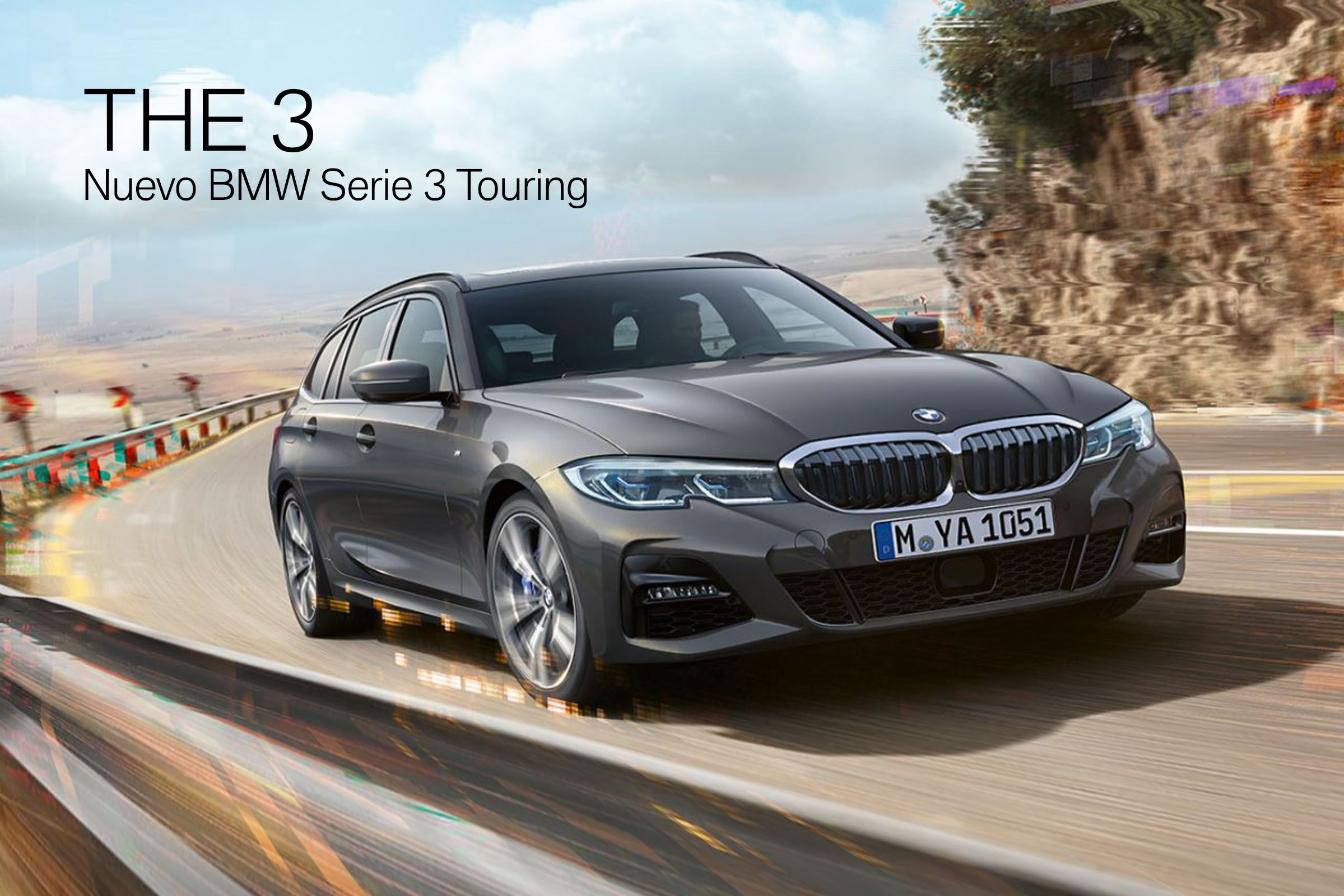 El nuevo BMW Serie 3 Touring - El más deportivo y tecnológico del segmento.