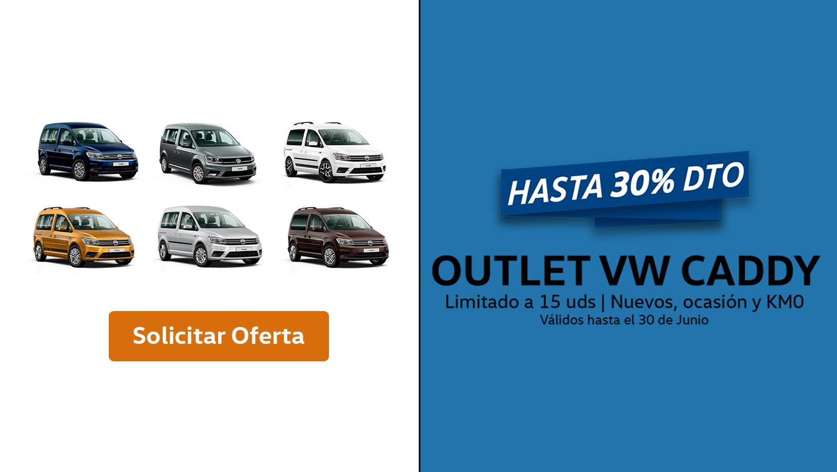 Outlet VW Caddy