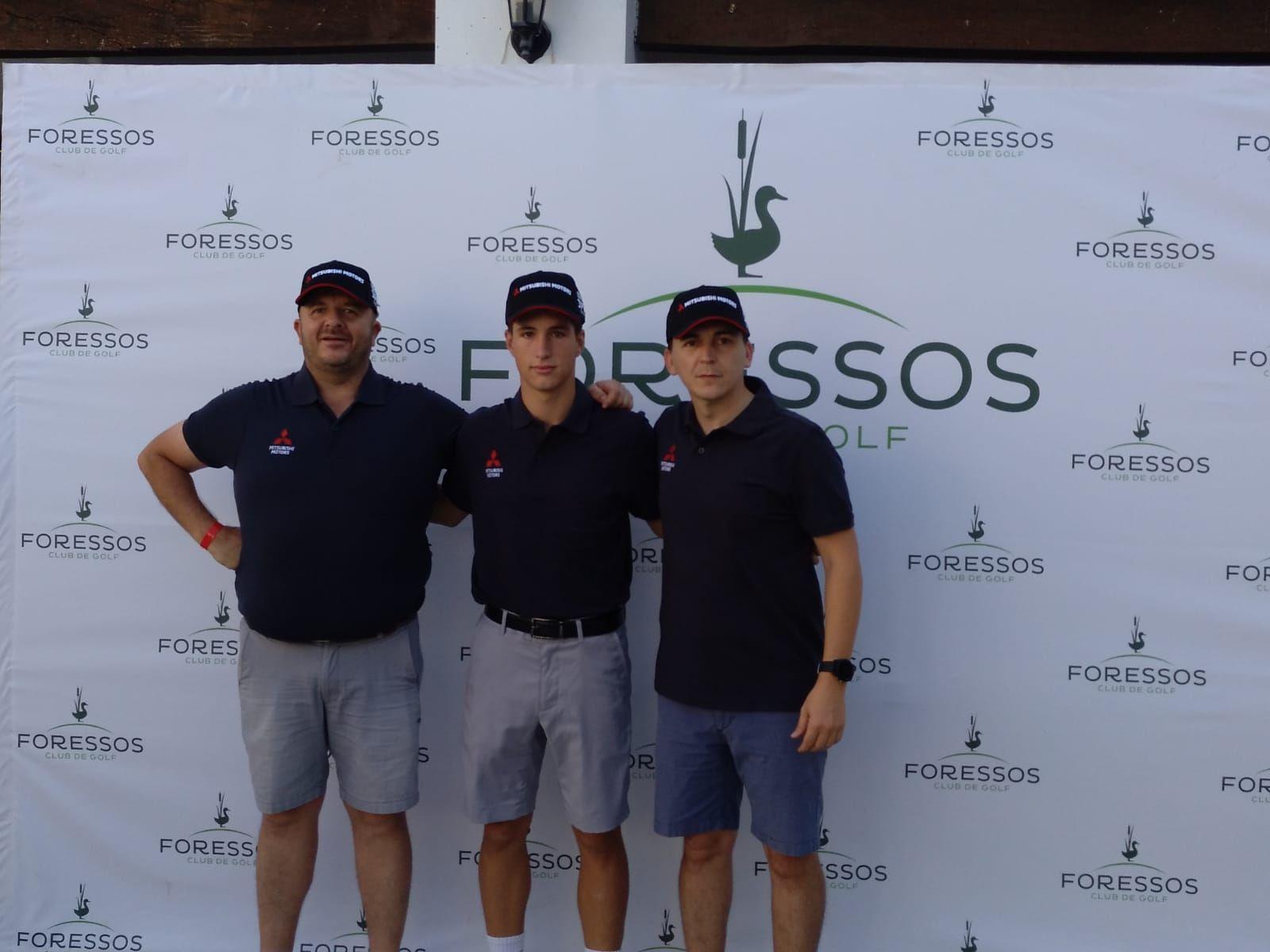 Mitsubishi Levante participa en el torneo Drive & Golf de Foressos Golf