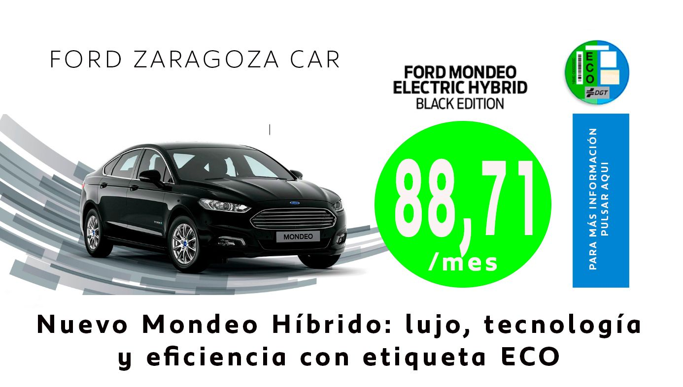 Ford Mondeo Electric Hybrid Black Edition por 88,71/mes
