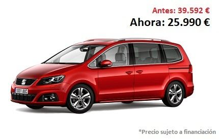 Alhambra 2.0 TDI CR 150 CV Reference TRAVEL EDITION con 7 Plazas