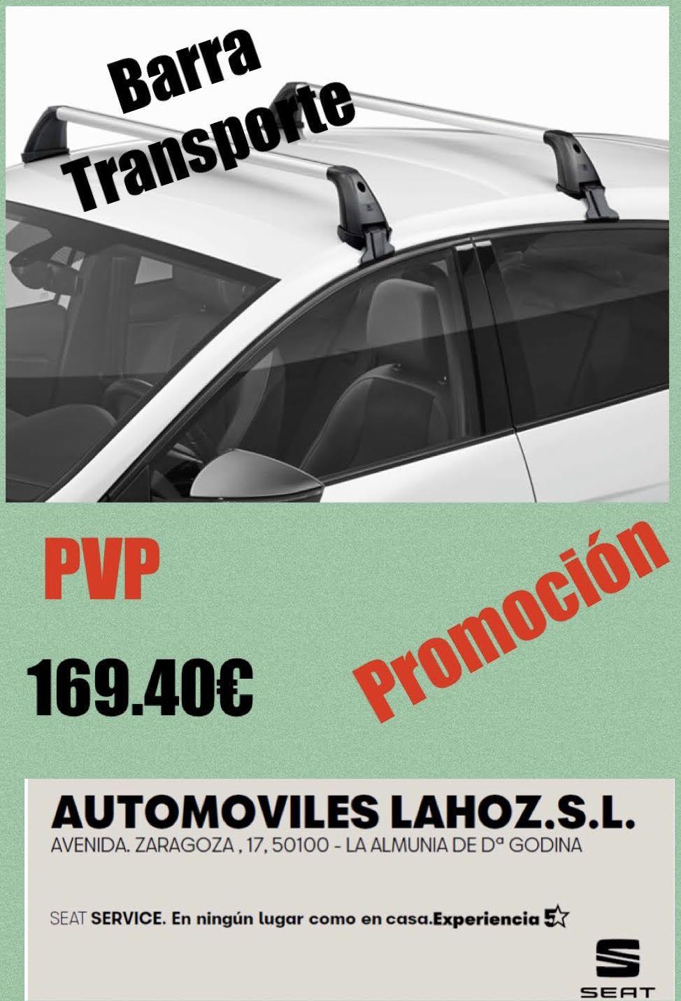 BARRAS PORTANTES ORIGINALES SEAT LEON. REF-4071101