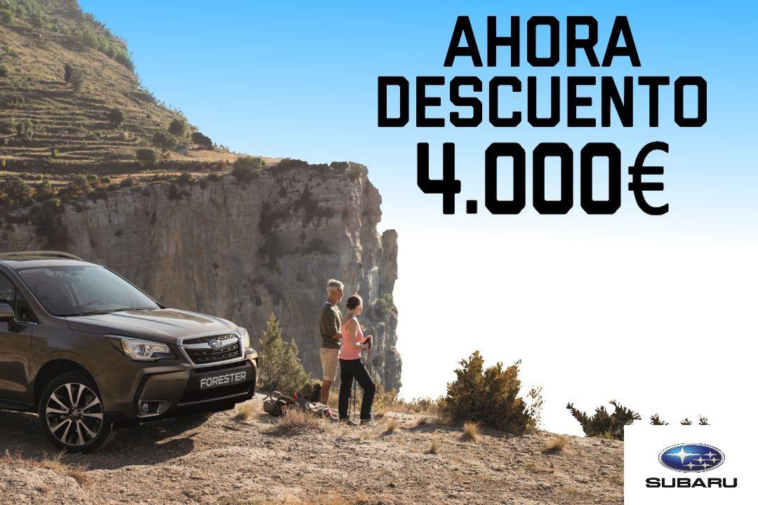 AHORA DESCUENTO 4.000€ SUBARU FORESTER