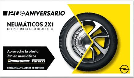 CAMPAÑA 2X1 NEUMÁTICOS