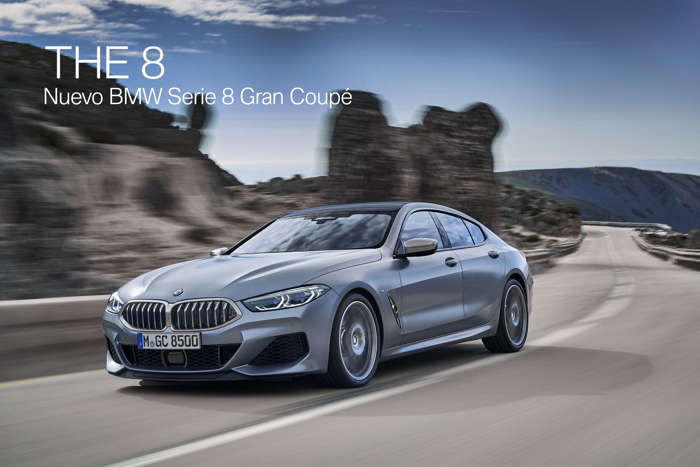 Nuevo BMW Serie 8 Gran Coupé