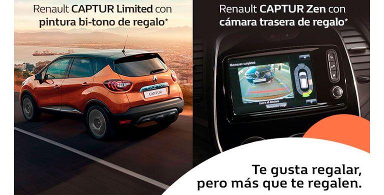 Renault Captur hasta 31 de Julio de 2019