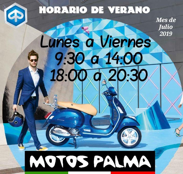 Horario Verano para Julio 2019