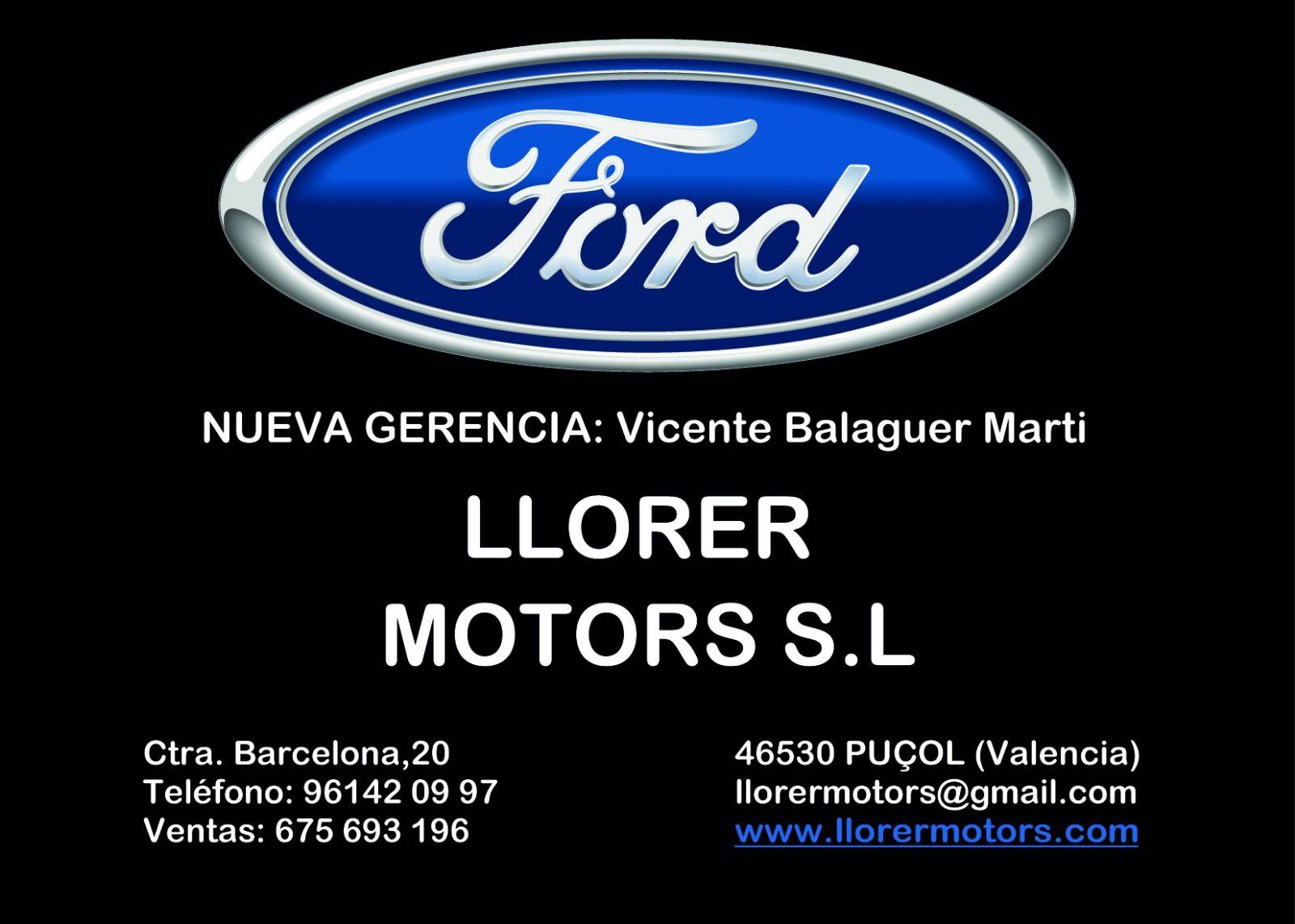 Nueva gerencia Llorer Motors