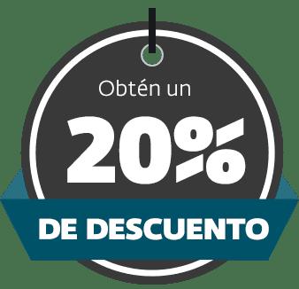 20% de descuento en taller de por vida