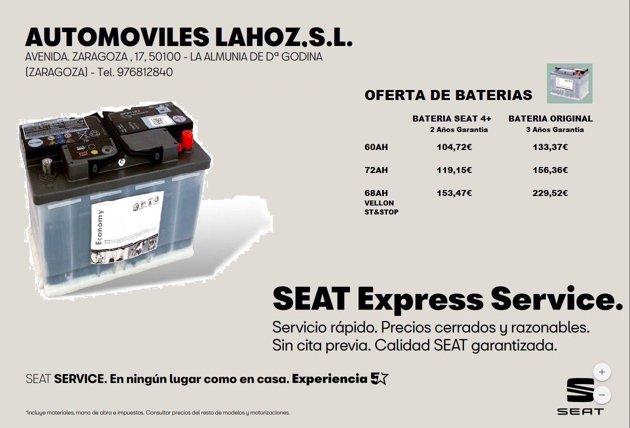 SEAT EXPRESS Service. Bateria.