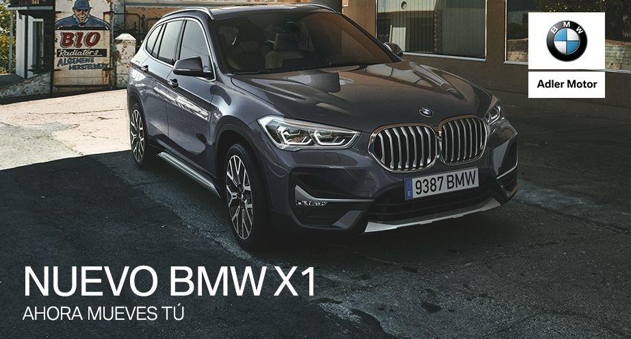 Nuevo BMW X1 desde 180€/mes