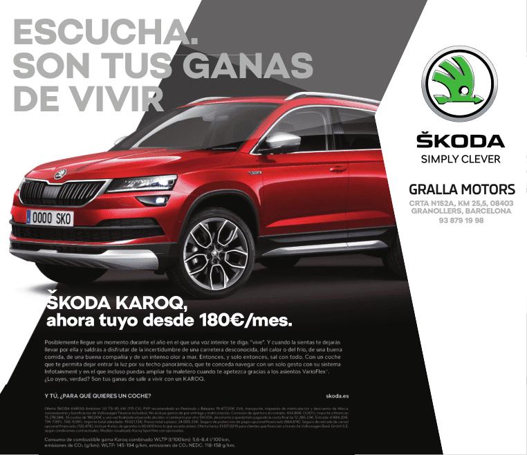 Skoda KAROQ desde 180€/mes*
