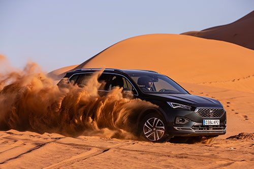 ¿Podrá el SEAT Tarraco con una duna del desierto?