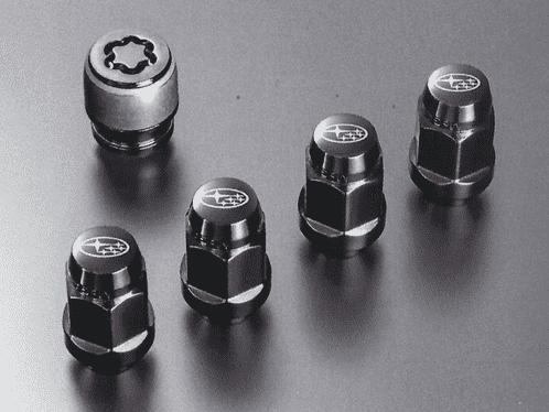Kit negro tornillos antirrobo